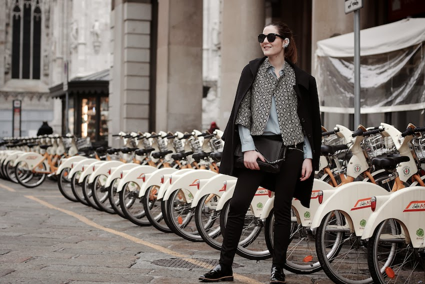 masculine look fashion street style milano irene buffa