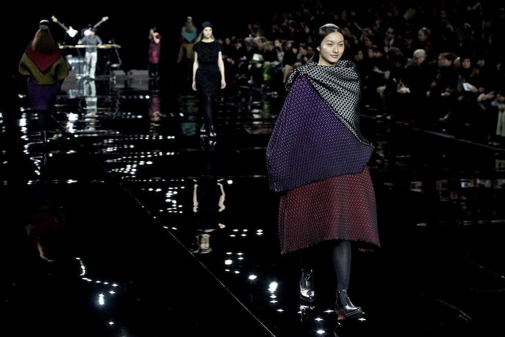 Paris Fashion Week Issey Miyake