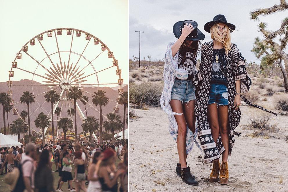 Coachella festival inspiration