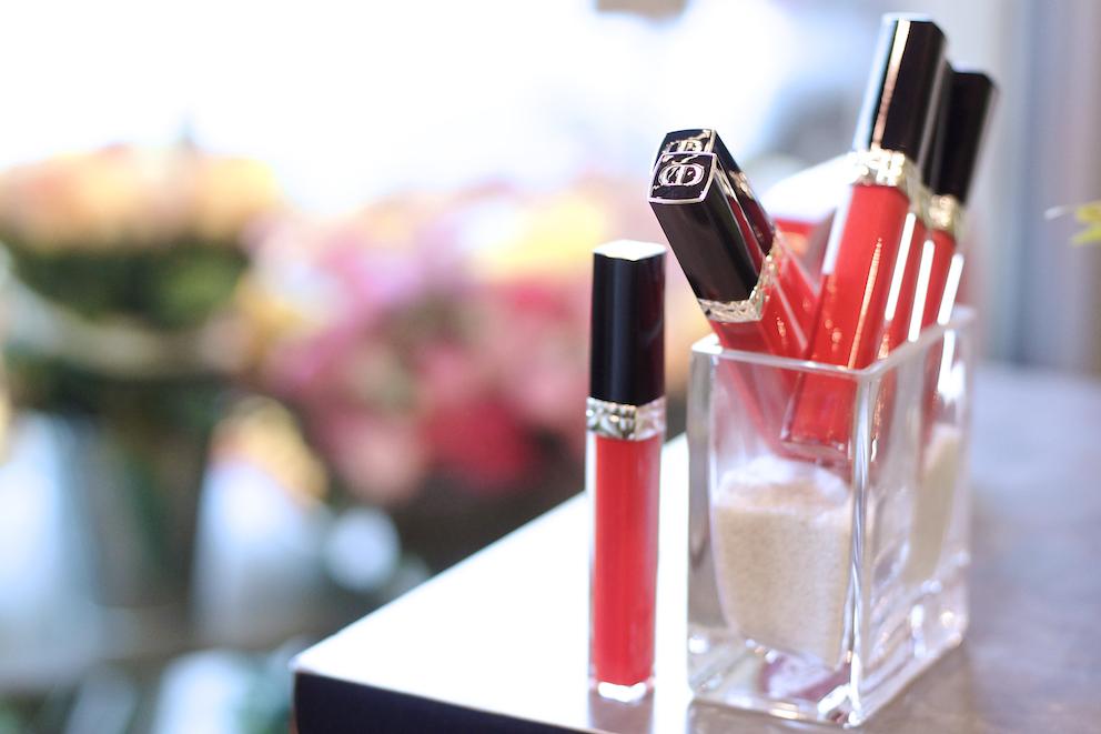 Dior rouge brilliant makeup
