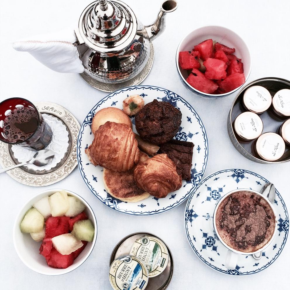 breakfast la sultana hotel