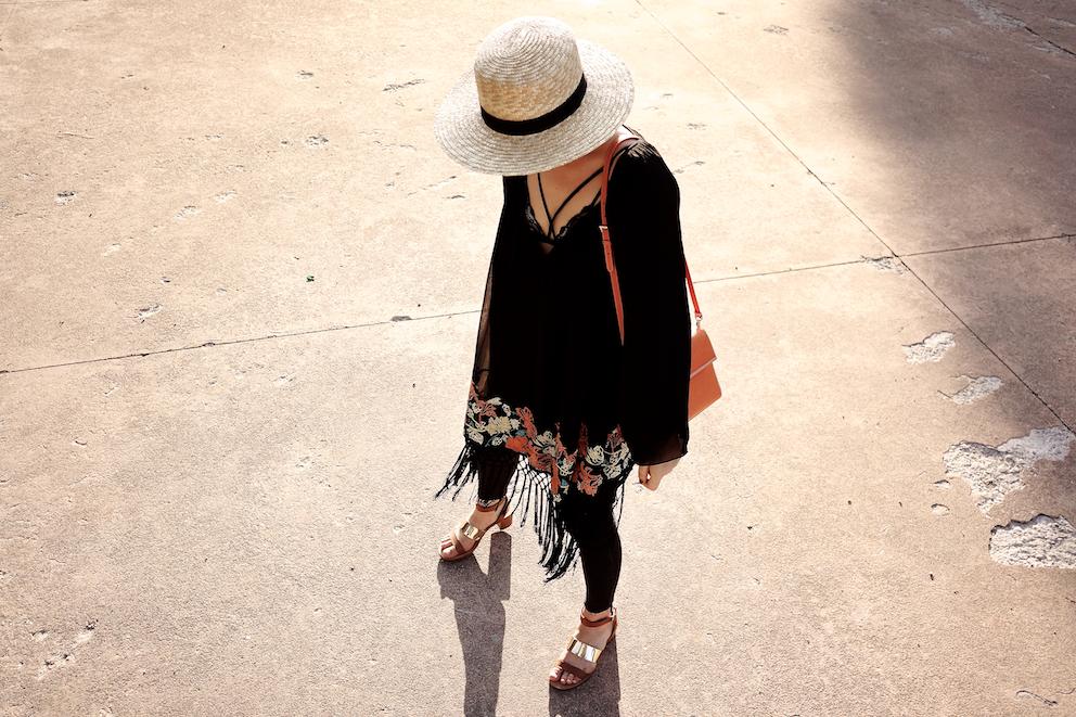 Irene Buffa - boho outfit