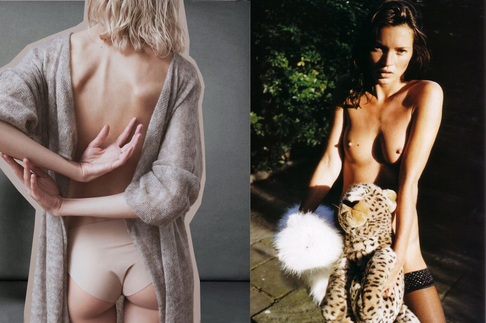 naked editorial inspiration