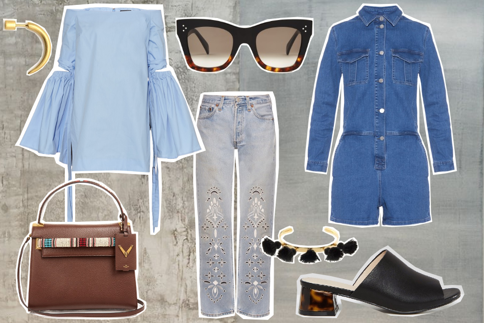 what to wear: chic denim