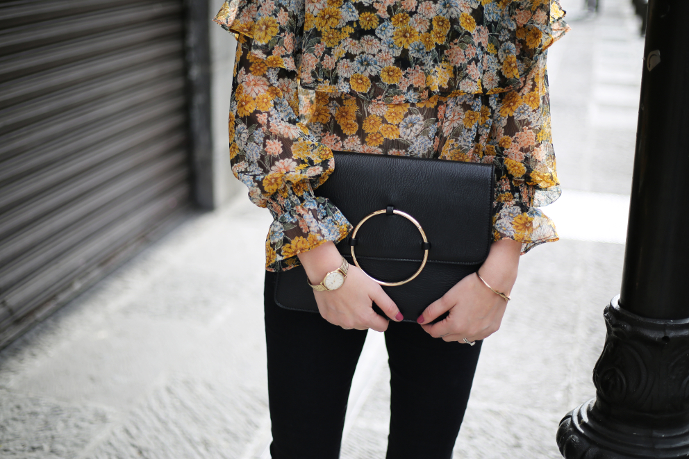 Floral and Jeans