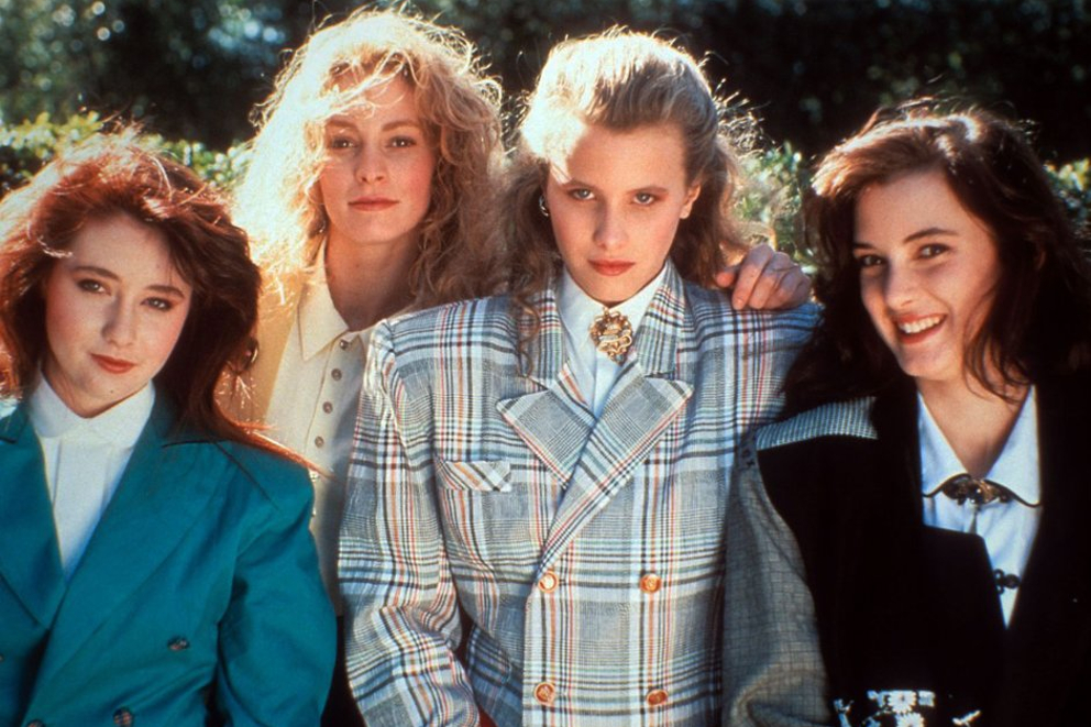 Heathers iconic fashion movies