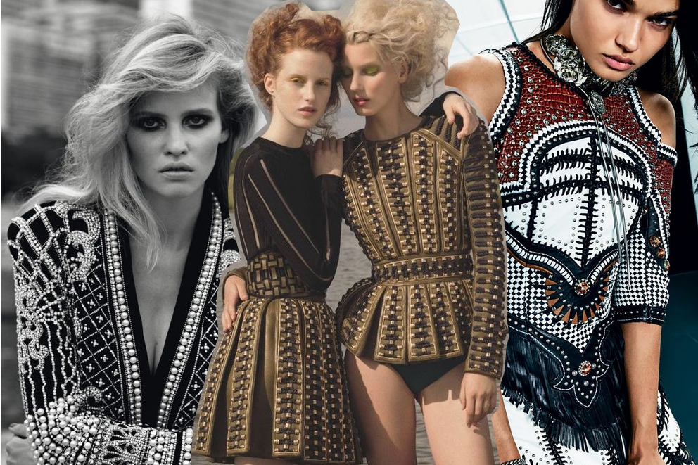 Balmain Style: your fashion editorial inspiration this week!